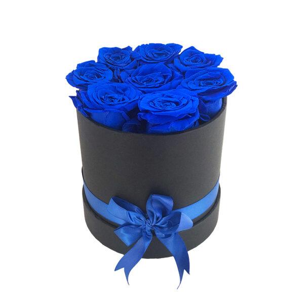 Dologotrajni Šopek iz 8 Modrih Vrtnic v Črni Škatlici