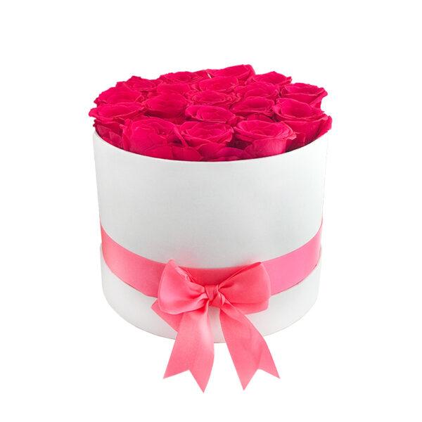 Dologotrajni Šopek iz 18 Roza Vrtnic v Beli Škatli